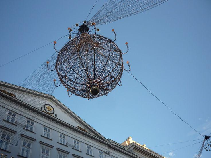 Bécs, belvárosa karácsonykor