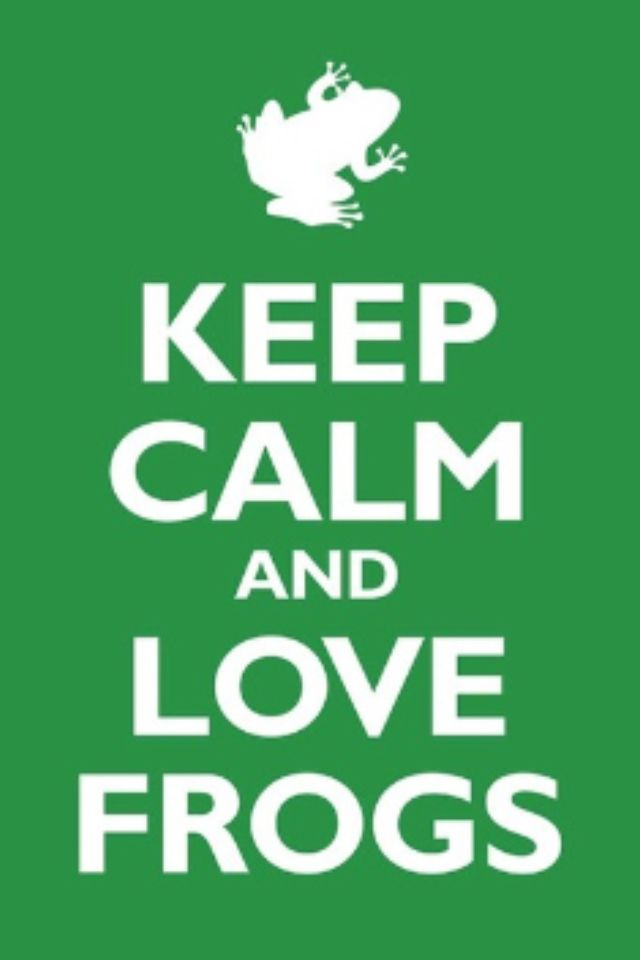 I Love Frogs <3