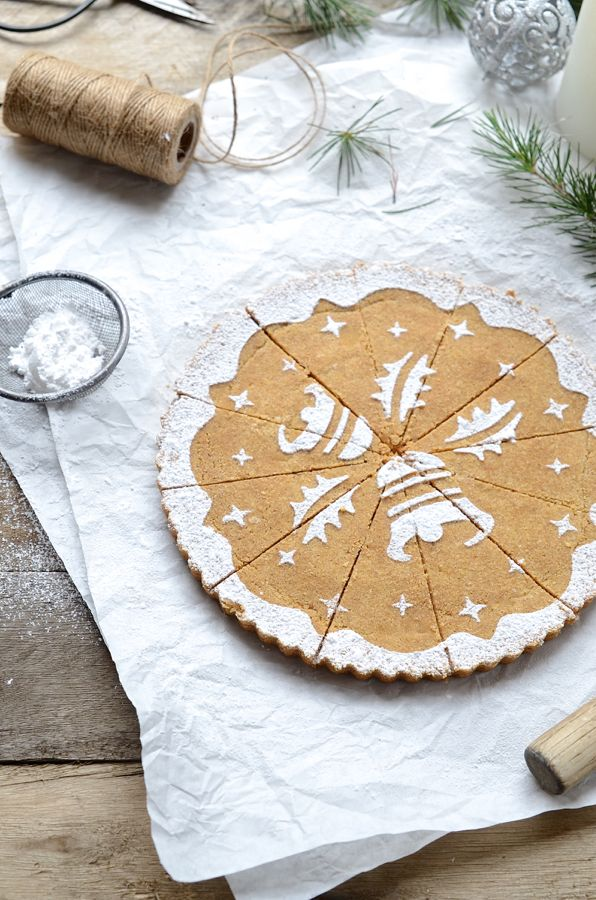 ... ginger and oat shortbread ...: