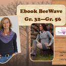 Nähanleitungen Mode - Ebook BeeWave Gr. 32 - Gr. 56 - ein Designerstück von BeeKiddi bei DaWanda