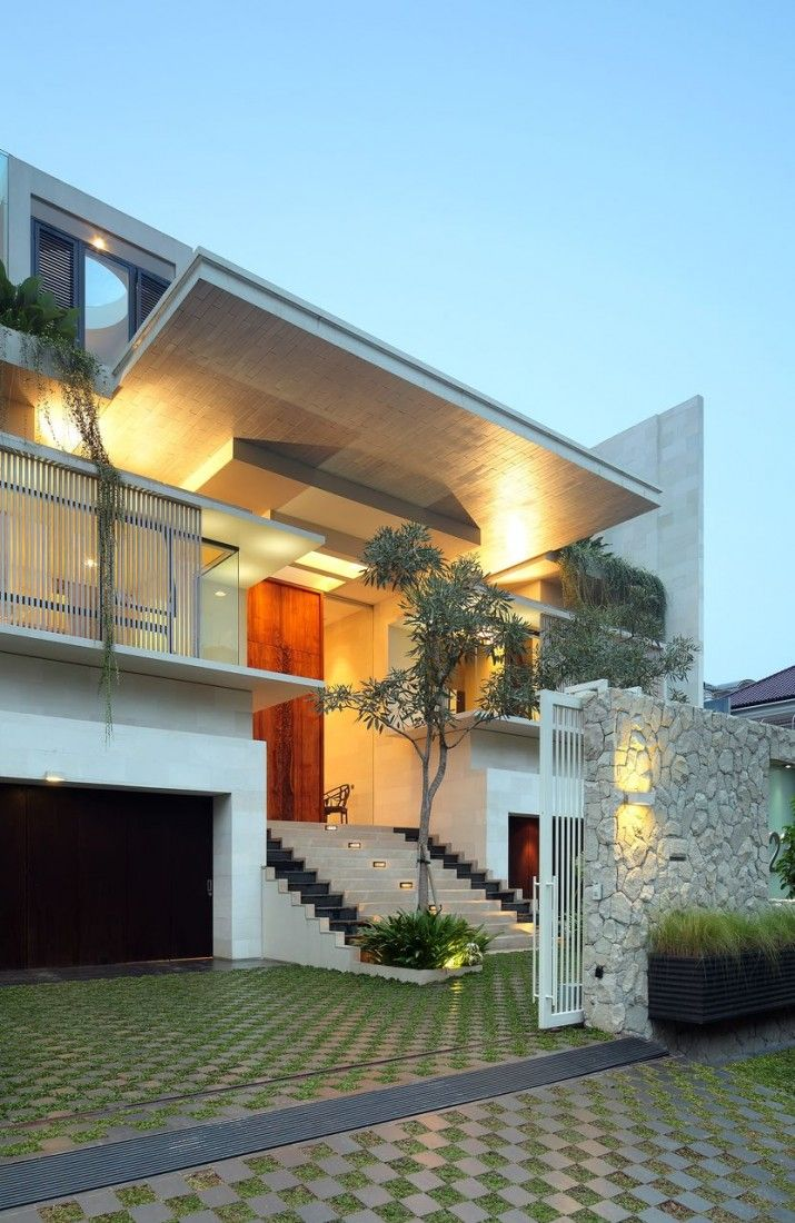 The Beautiful Static House in Jakarta, Indonesia - Homaci.com