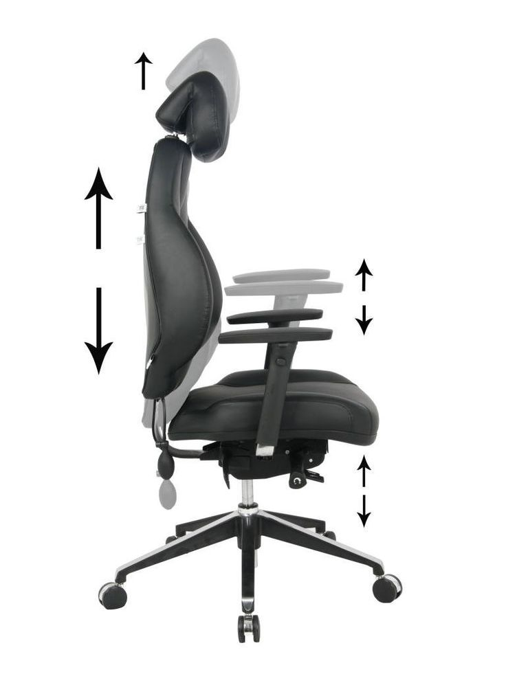 Fully Adjustable Office Chair 29 best managerial & executive chairs images on pinterest | office