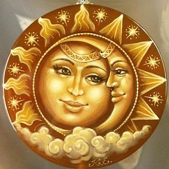 солнце и луна - Схемы вышивки - Vikkki88 - Авторы - Портал «Вышивка крестом»