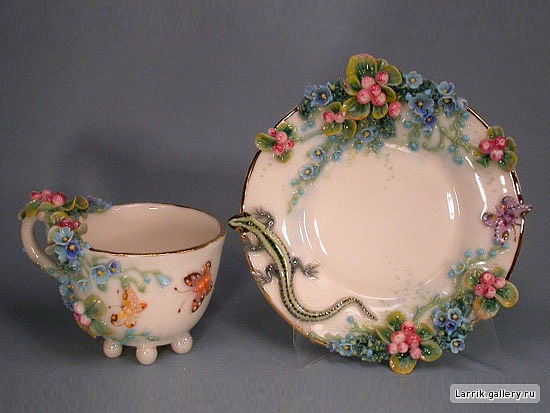 porcelan Tea and Saucer