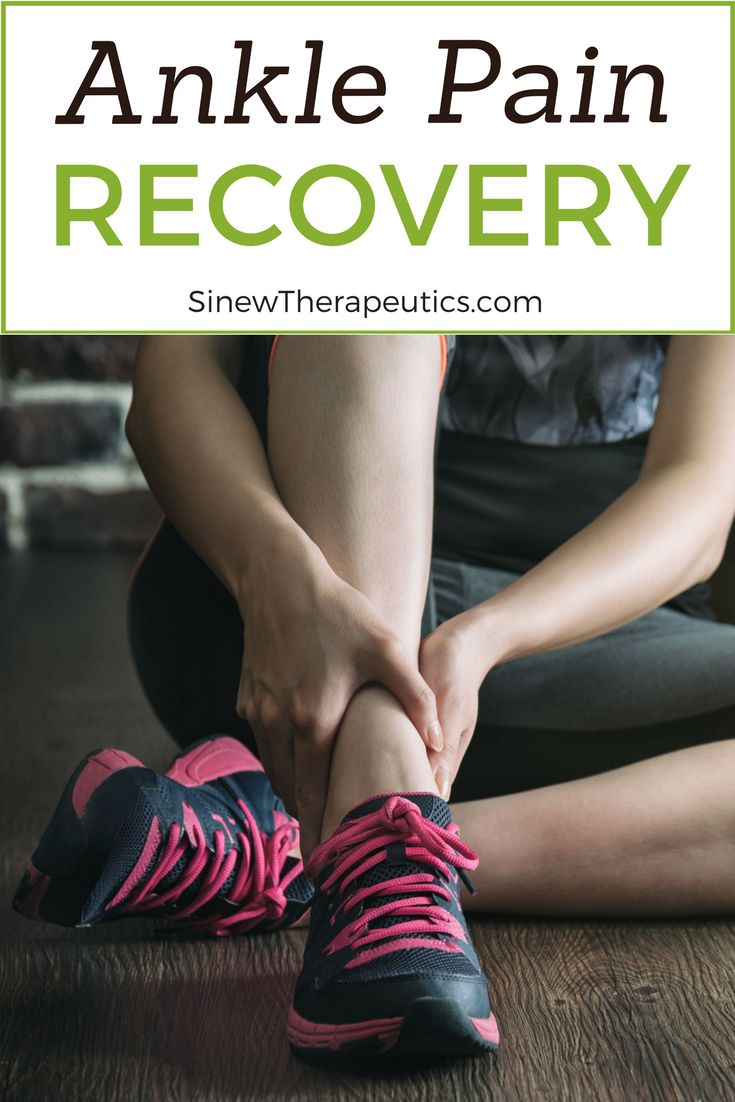 Ankle Pain Recovery - Stiffness and decreased mobility are due to spasms in tendons and ligaments that have contracted reflexively beyond their normal range from the impact of the injury. Learn more at SinewTherapeutics.com