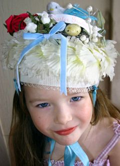 cute easter bonnet