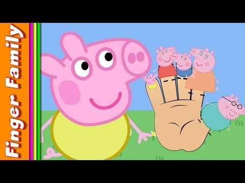Peppa Pig Baby Alexander Finger Family Song Nursery Rhyme For Kids ♥ Daddy Mommy Peppa Alexander - YouTube