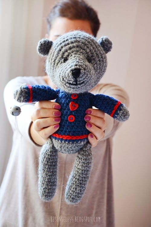 Amigurumi Valentine Teddy Bear Part Two : 176 best images about Teddy bears