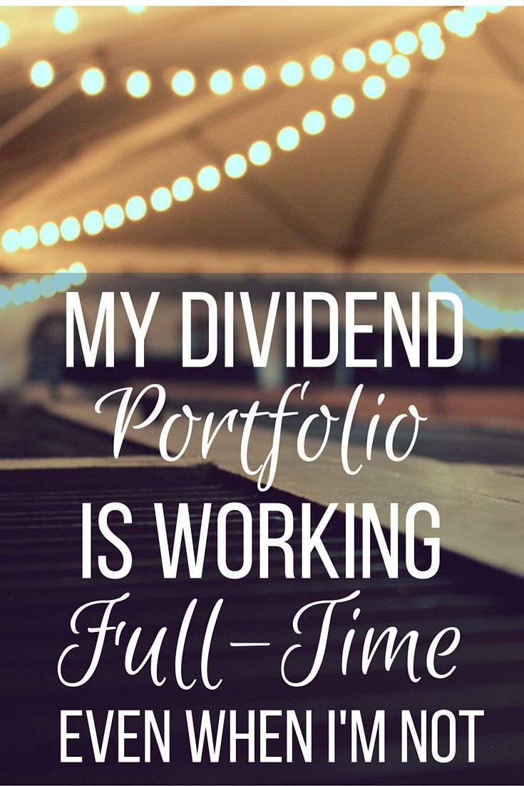 How would you rather earn money? By hustling or passively with a dividend income portfolio? | Cashville Skyline
