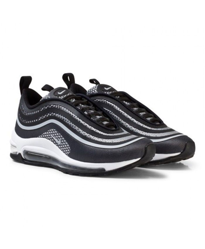 3c30fac5be6f7 Authentic Nike Air Max 97 Ultra 17 Junior Black Trainers | nike-air ...