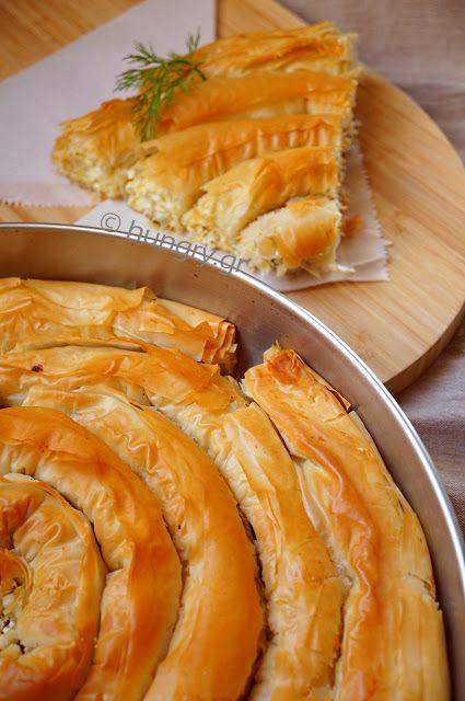 Kitchen Stori.es: Στριφτή Τυρόπιτα με Φύλλο Κρούστας