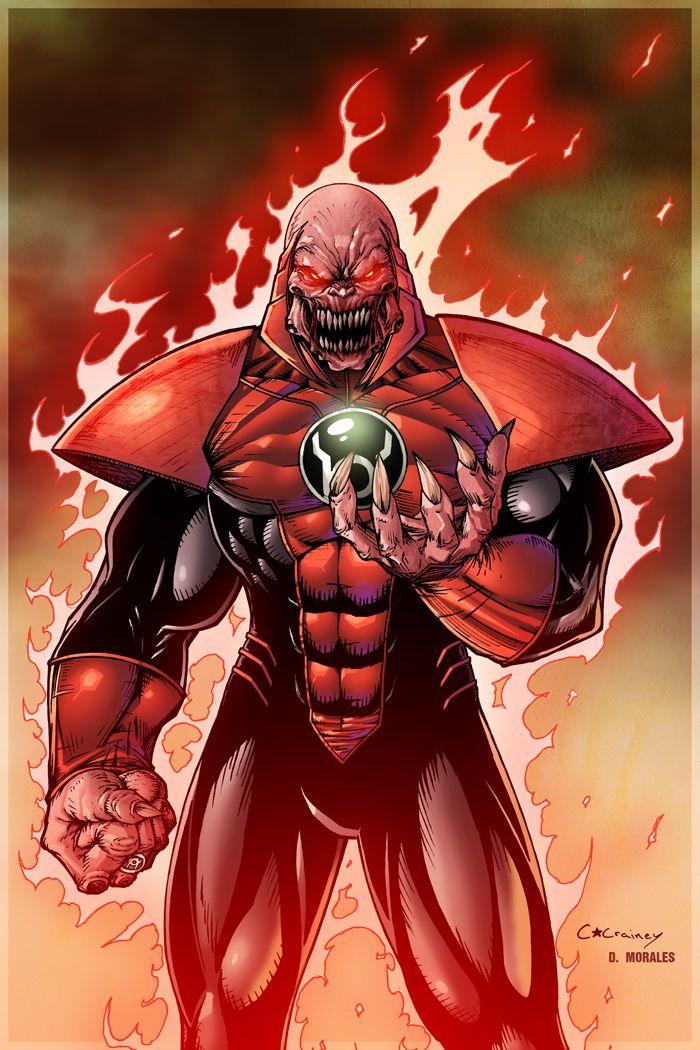 Red Lantern Corps atrocitus | 1,036