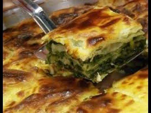 Ispanaklı Börek - YouTube