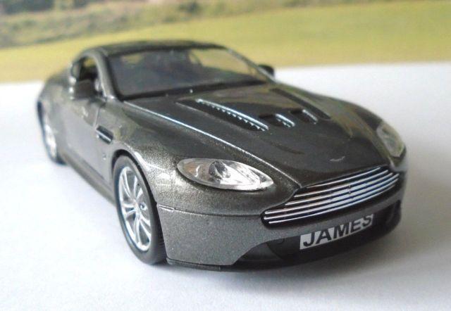 Personalised Plates Metallic Grey Aston Martin Toy/Model