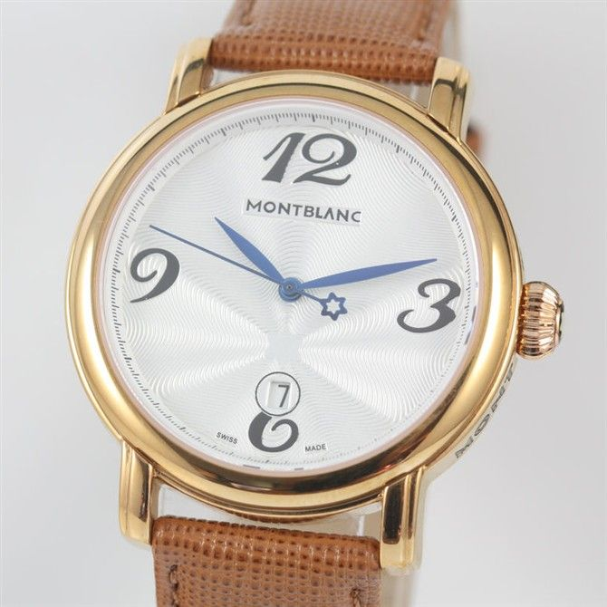 Replica MontBlanc Watch 2013 $179.00 http://www.swisstrendy.com/replica-montblanc-watch-2013-swiss-store-3a2027.html