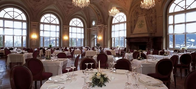 Ristorante Salone dei Balli - Grand Hotel Bagni Nuovi di Bormio