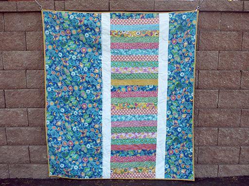 Casey York // Wisteria Quilt Back // Spring Bloom Fabric // Bella Caronia for Windham Fabrics