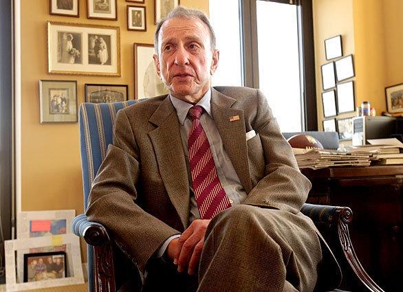 Then-Sen. Arlen Specter in his office in 2009.