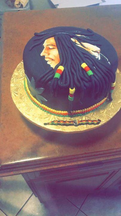 Bob Marley Cake