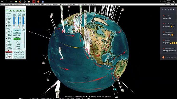 5/08/2017 -- Nightly Earthquake Update + Forecast -- Pacific unrest -- M6.0 + Alaska M6.3 #Dutchsinse