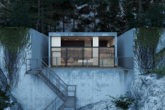 Rocky Mountainside Chair House by Igor Sirotov 1