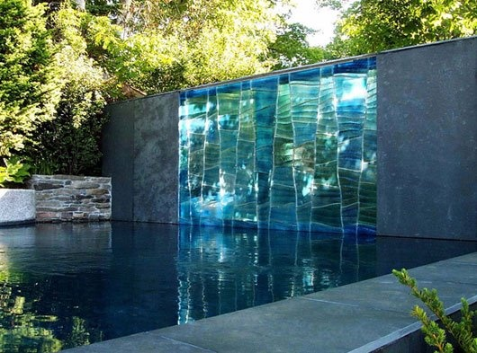 glass...rock...architecture