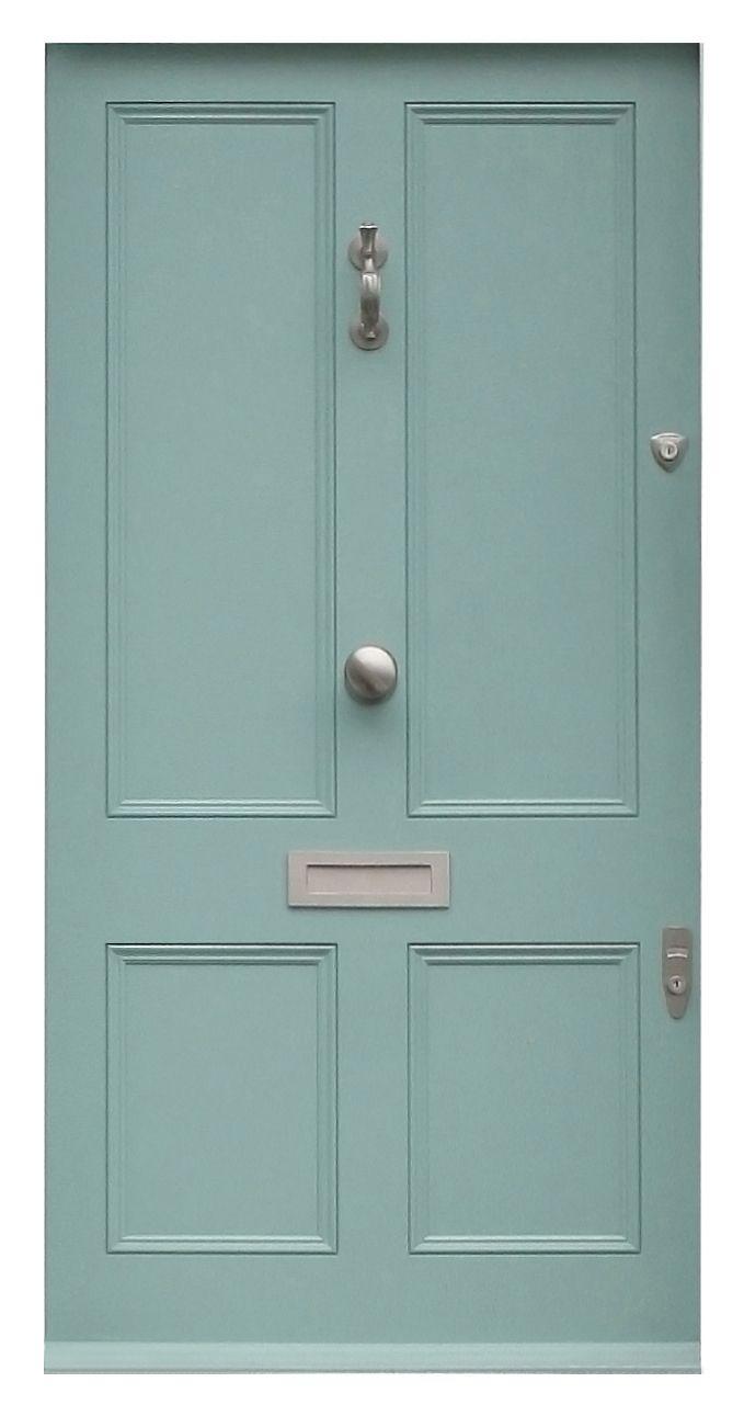 4 Panel Door  sc 1 st  Pinterest & 39 best Bespoke Doors images on Pinterest | Bespoke Front doors ... pezcame.com