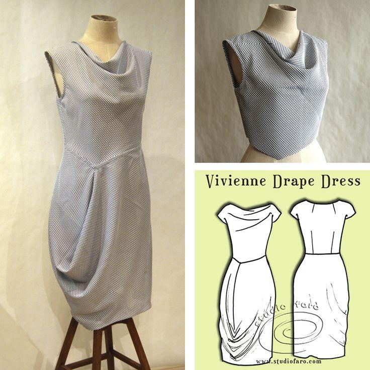 Fashion your drape the way you like it #InAnAvo! #PatternMakingClass #Sydney #DrapeDressPatterns