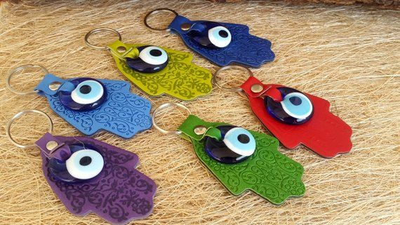 christmas gift 2019 Evil Eye Keychain , Christmas Gifts Idea , Evil Eye Gifts , Gift for Family Mom Dad, His & Hers gift , Keychains