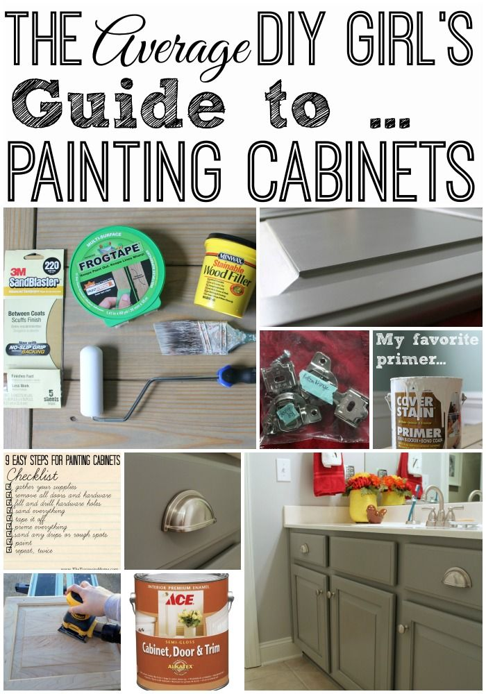 the average diy girls guide to painting cabinets. Interior Design Ideas. Home Design Ideas