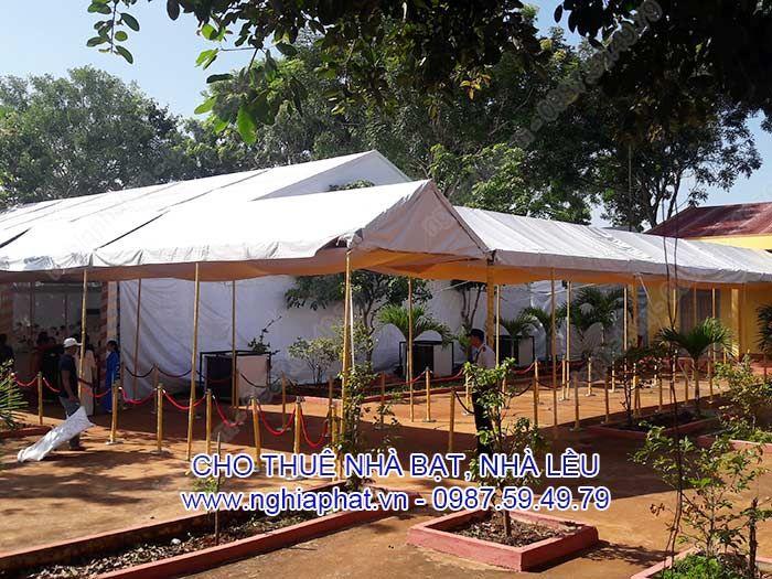 Cho thuê nhà bạt trong Lễ đón tiếp thủ tướng Hun Sen tại Lộc Ninh-Bình Phước