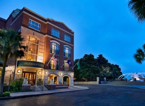 Hotel Photo Gallery | HarbourView Inn | Charleston SC Downtown Hotels on the Water