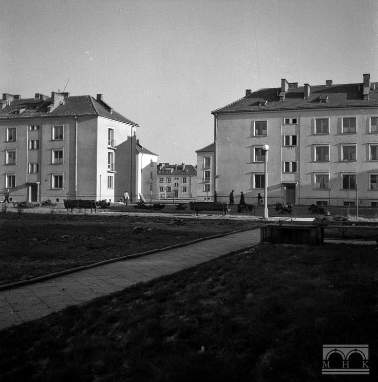 Nowa Huta, os. Wandy. Author: Henryk Hermanowicz. Years 50/60. XX. Cracow