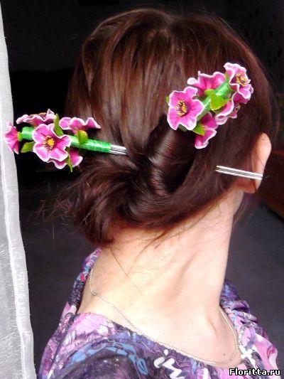палочки для волос фото