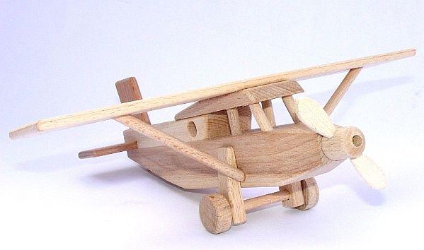 Spielzeug Holz-flugzeug Pilatus