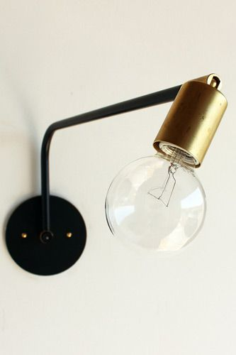 industrial sconce.