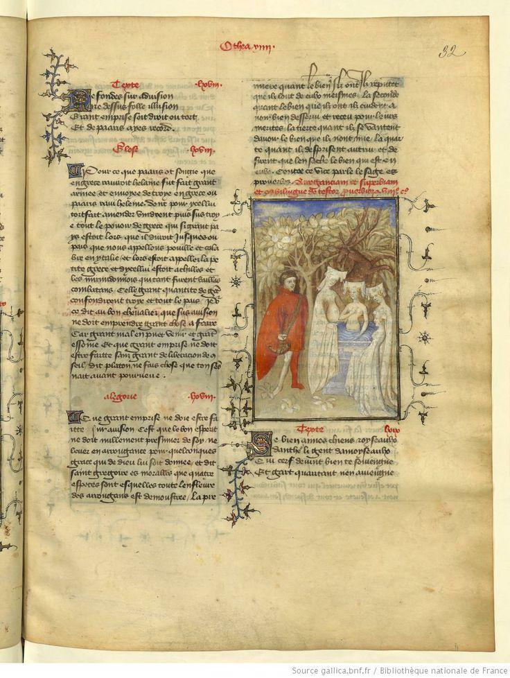 L'Epistre Othea à Hector, fol 32r