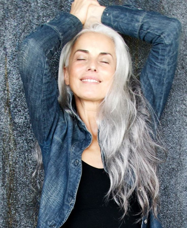 Best 25+ Long gray hair ideas on Pinterest Long silver - Hairstyles For 50 Year Olds