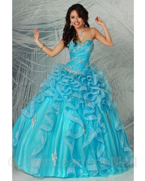 1000+ Images About Aqua Quinceanera Dresses On Pinterest