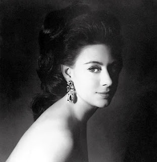 Her Royal Highness Princess Margaret, Countess of Snowdon.  Photographed by her husband, Lord Snowdon, 1967.