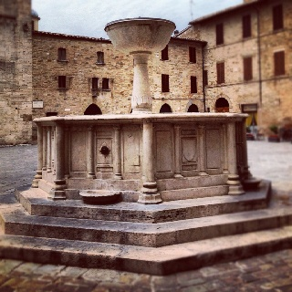 Bevagna amazing medieval town is part of the wine district of Montefalco DOC-DOCG wines