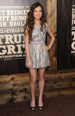 Hailee Steinfeld at event of True Grit
