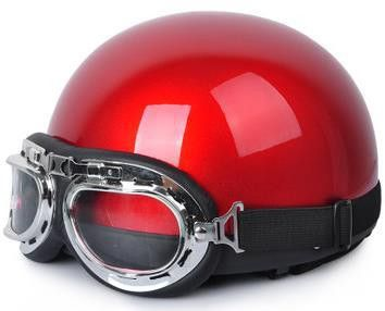 free shipping motorcycle helmet Novelty helmet with goggles