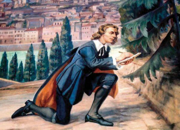 """Estamos de cumpleaños. Este señor """"tan joven"""" (nació en 1638) es Nicolás #Steno, una persona fundamental en el desarrollo de la #Geología. Los principios de horizontalidad y de superposición de los estratos son suyos."""