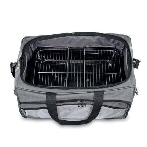 Buccaneer Insulated Cooler Tote with Grill and Grill Tools Inside by Picnic Time. $159.95. Tailgating All-In-One Tote - Buccaneer. 15x12.25x21.75 inches. Buccaneer Insulated Cooler Tote with Grill and Grill Tools Inside. The Buccaneer is a original design and the ultimate tailgating cooler and barbecue set in one! Don't be fooled by other similar looking items on the market. The Buccaneer features a PVC cooler that conveniently nests inside the compartment that houses the porta...