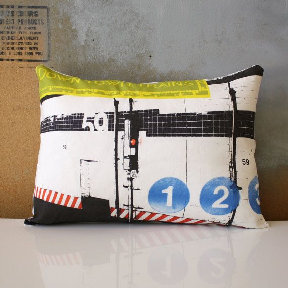 New York City  Urban Throw Style no17 by NestaHome on Etsy, $30.00