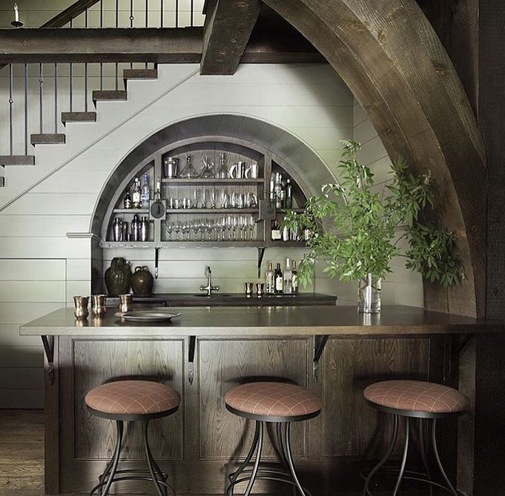 Interior Design Custom Wet Bar Designs 1: Best 25+ Bar Under Stairs Ideas On Pinterest