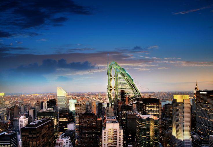 Cos'è quella libellula che cambierà lo skyline di New York? http://ow.ly/wwuYP