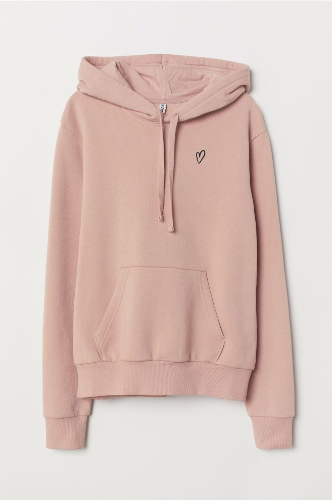 8dcda4bacc7e H&M Hooded Sweatshirt with Motif - Orange in 2019 | clothes | Hooded ...