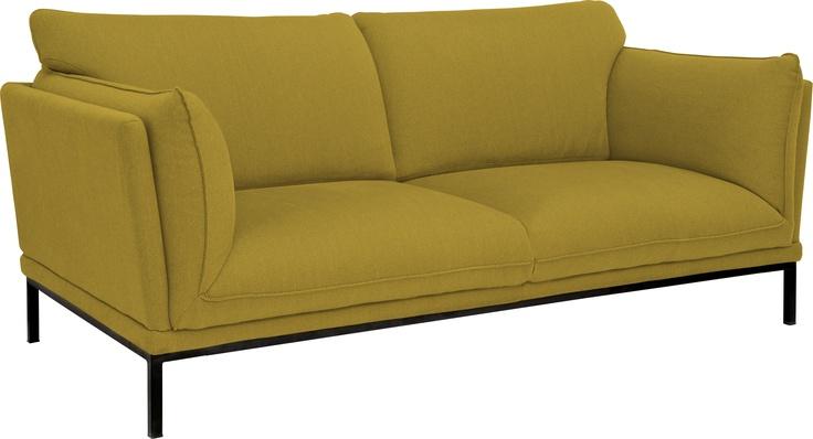 Bach 2 seter sofa. Fåes også som  3 seter og i flere farger. Dimensjoner: L173 x H87 x D96cm, setehøyde 44cm. Kr. 12.500,-